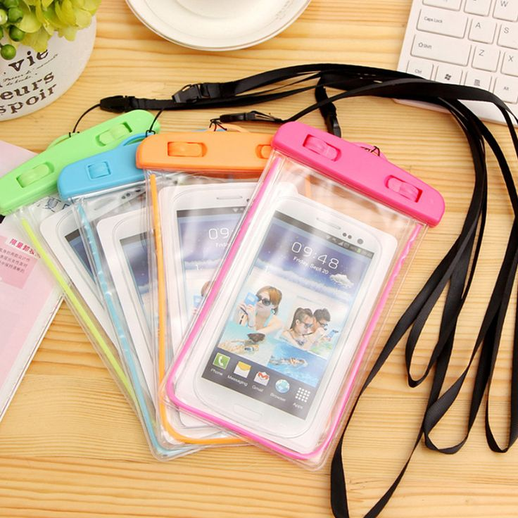 Night Light Phone Bag Underwater Waterproof Phone Bag Diving Bag Mobile Phone Pouch Case For Samsung S6 For Iphone 6 Plus Xi New