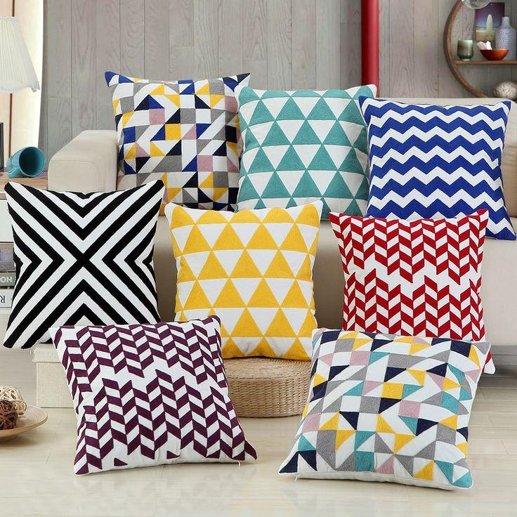Oltre 25 fantastiche idee su cuscini per divano su - Fodere cuscini divano ...