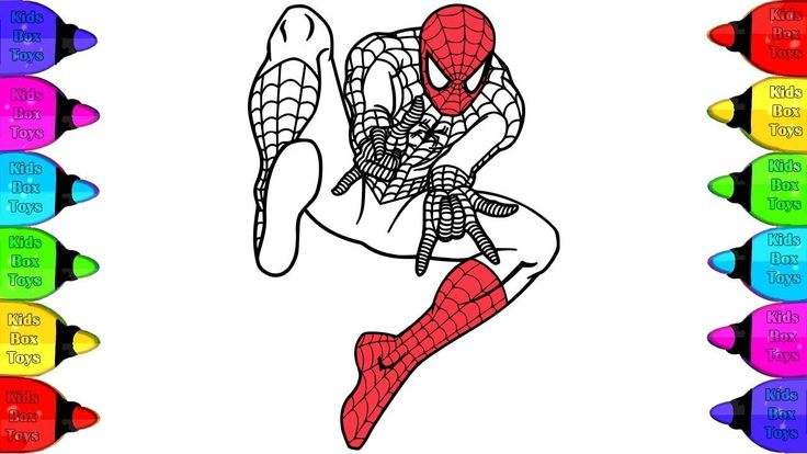 Spider-Man PS4 Coloring page | Coloring Spiderman 3 ...