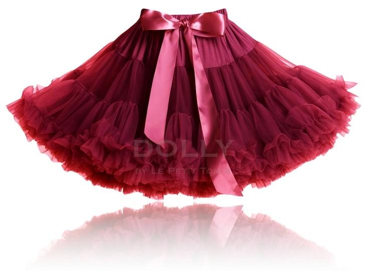 ČERVENÁ KRÁĽOVNÁ  petti sukňa