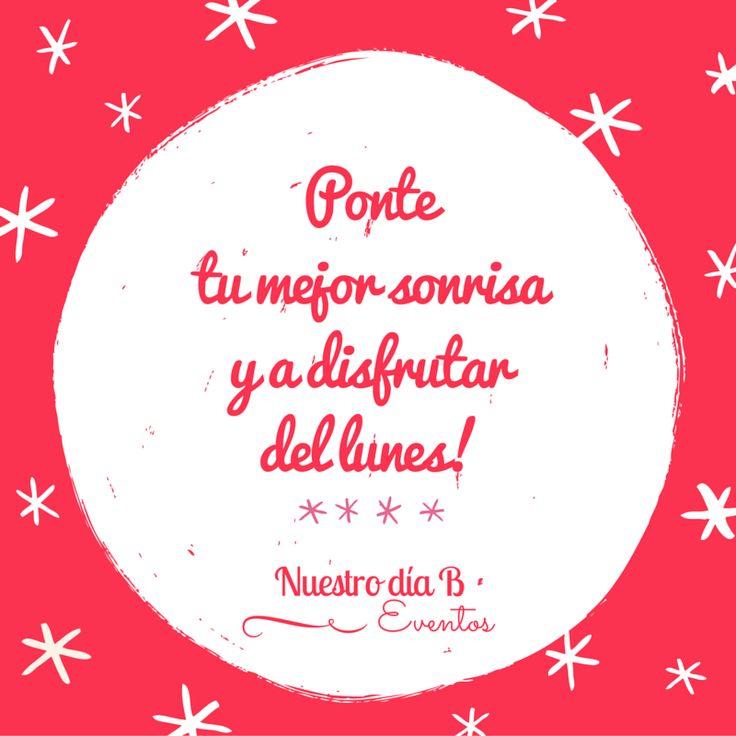 Feliz semana! #felizlnes #happymonday #frasedeldia