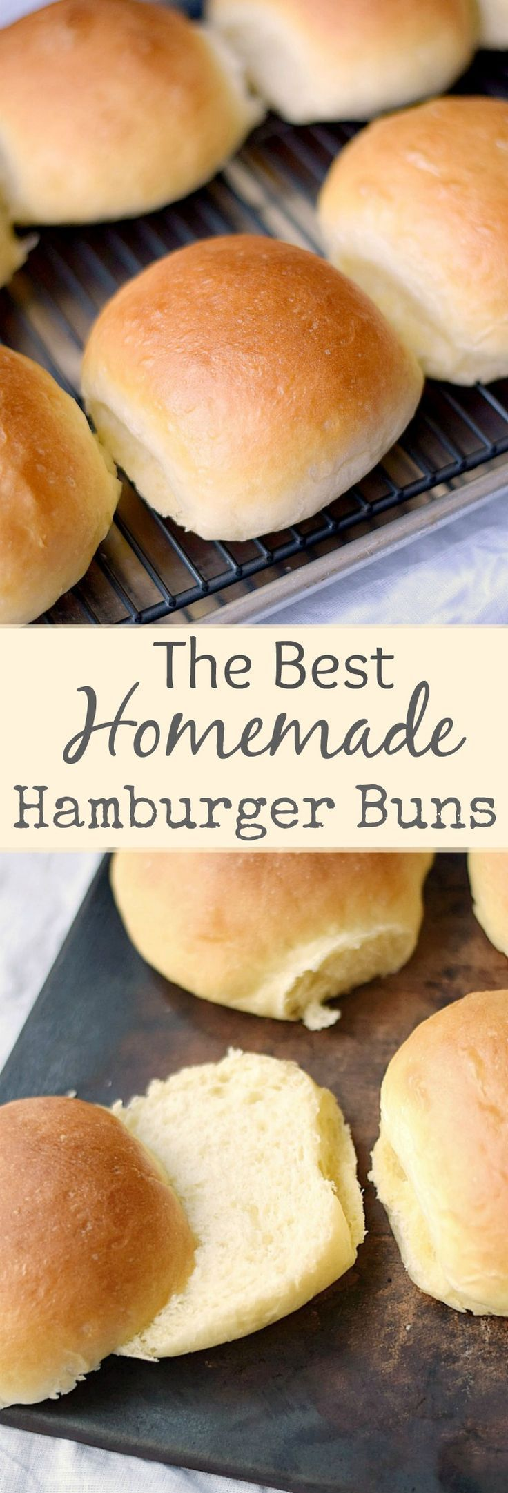 This is the one and only recipe for the BEST Homemade Hamburger Buns that you will ever need!! cookingwithcurls.com