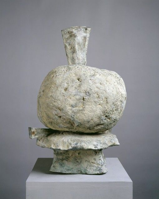 Not a painting... I didn't realize he sculpted.  Cy Twombly, Untitled (2005). Bronze