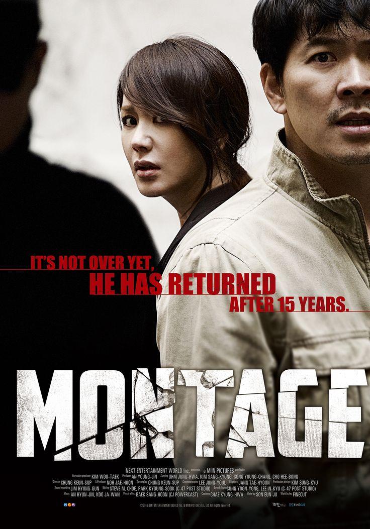 Montage 2013 korean thriller movie my fav movie posters