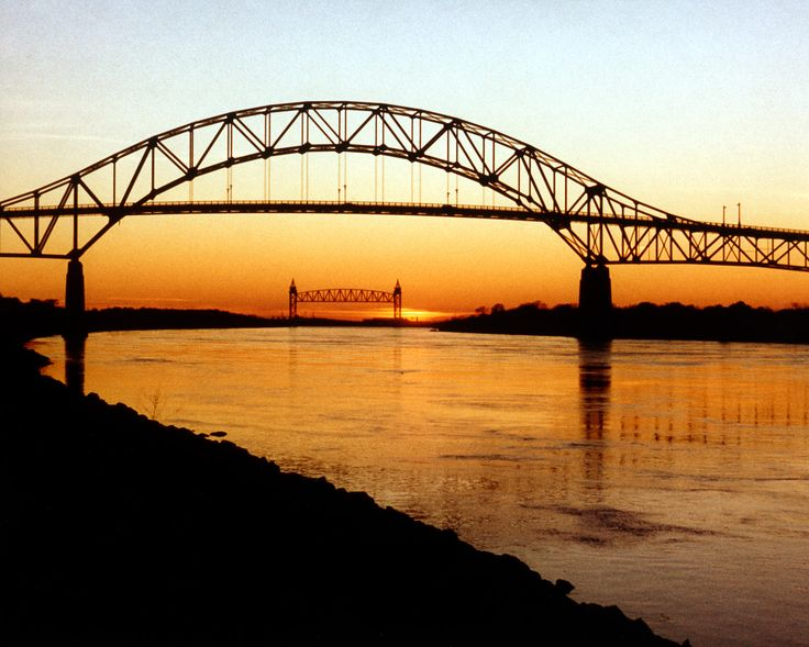 The Bourne Bridge in Cape Cod