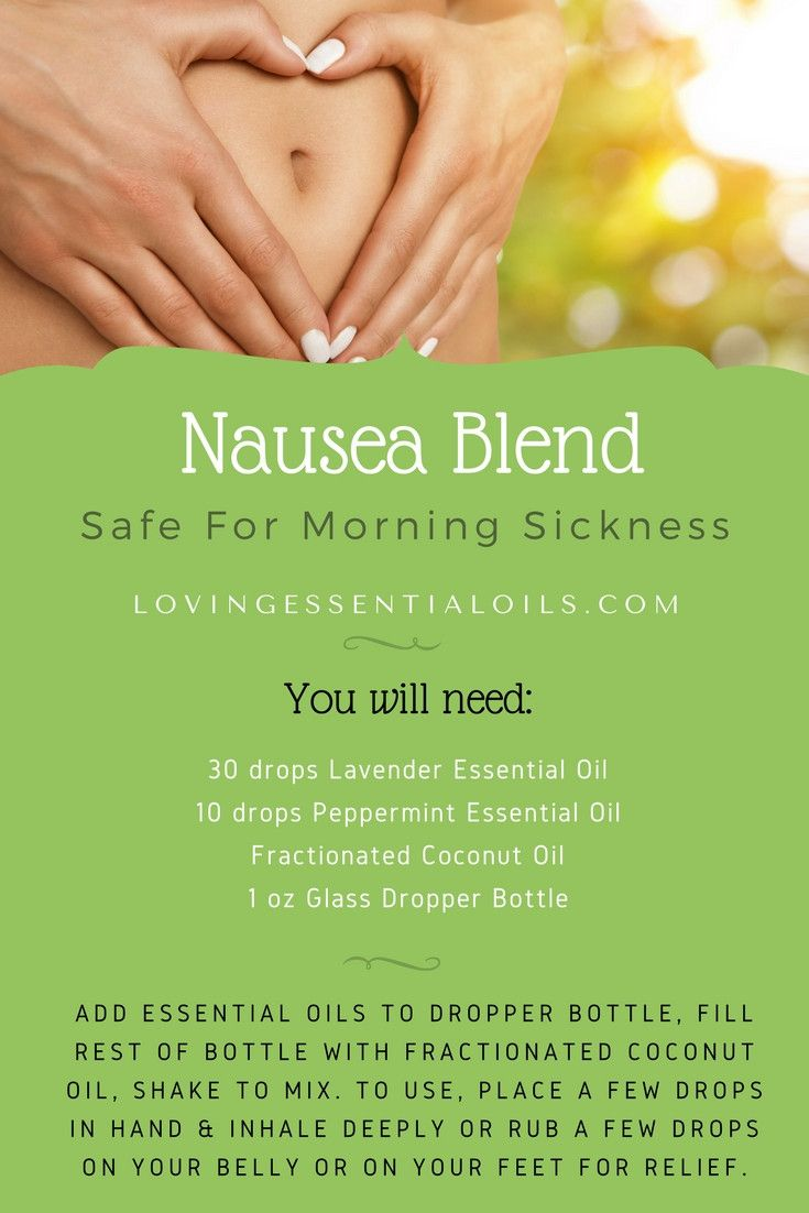 DIY Essential Oil Nausea Blend Recipe Safe For Morning Sickness | Lavender Oil | Peppermint Oil | Fractionated Coconut Oil | Dropper Bottle Recipes | Upset Stomach Home Remedy