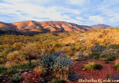 Australian outback | Everything else on the map is the Australian Outback.