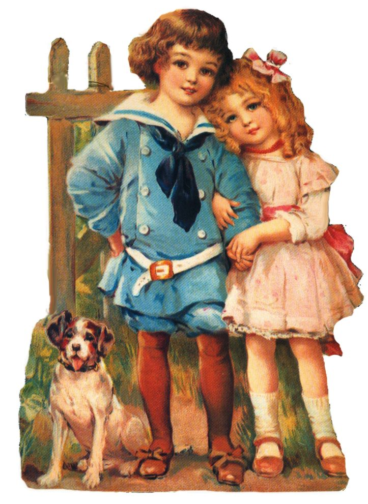 victorian artwork | Victorian boy and girl clipart by *jinifur on deviantART