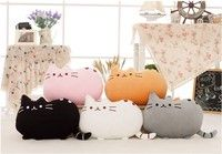 size:40cm*30cm     color:white,grey ,pink,black,brown fill material:100%PP cotton Package:1 pcs pill