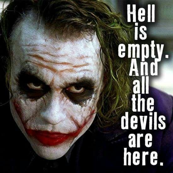 Joker Quotes, Heath Ledger
