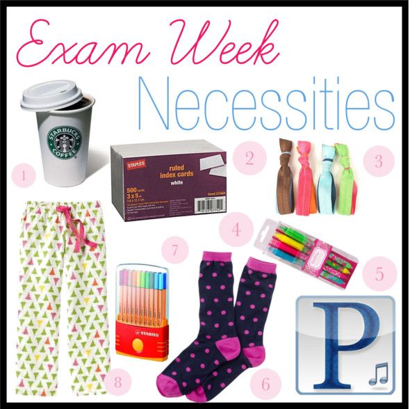 Exam Week Necessities, but seriously this stuff keeps ya going