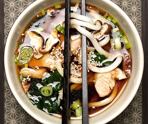Udon-Nudel-Suppe