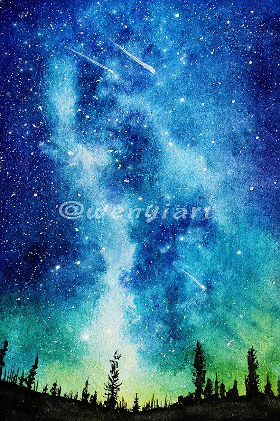 Best 25+ Watercolor galaxy ideas on Pinterest | Galaxy ...