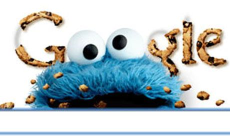 Google Doodles ~ Sesame Street Celebrates it's 40th Birthday!  November 10, 2009