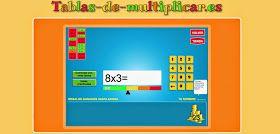 La Eduteca: BANCO TIC | Aplicación para aprender las tablas de multiplicar