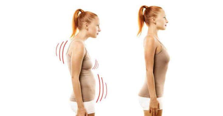 Aprenda a melhorar a postura em casa: Alongamento diário de 2 minutos! | Como melhorar a postura, Exercício para postura, Exercício para coluna
