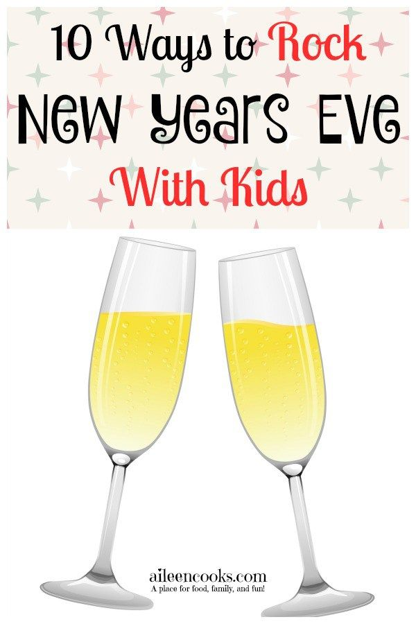 Survive and ENJOY New Years Eve With Kids