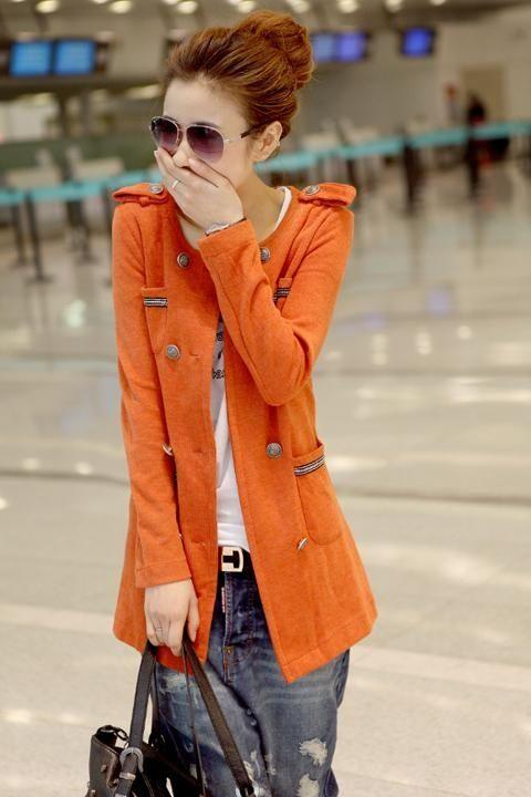 Orange Jacket!