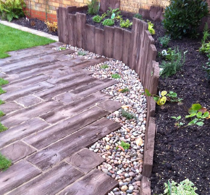 Woodstone Sleepers by Conway Landscapes of Bishop Stortford