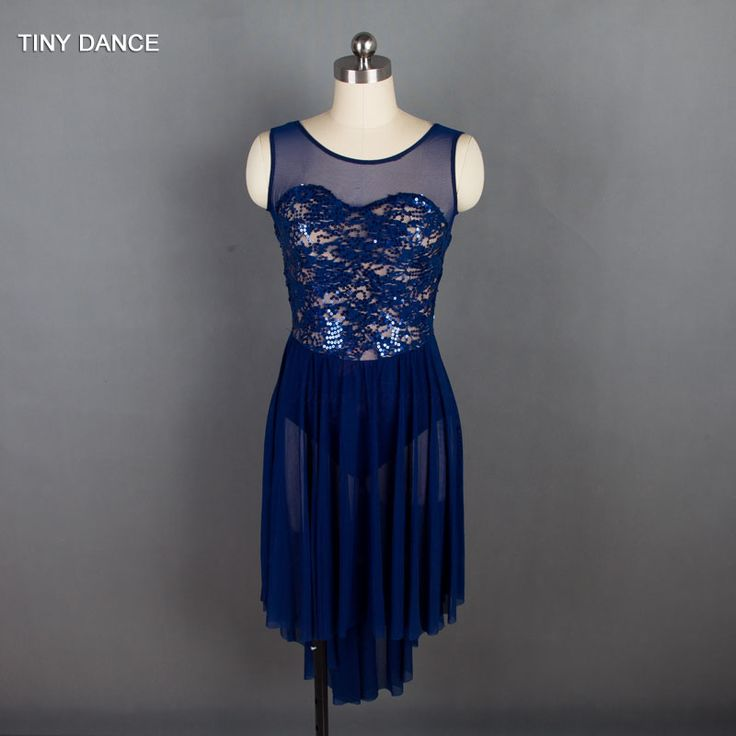 Find More Ballet Information about  2018 New Arrival of Adult Girls Ballet Dance Costume Sequin Lace Lyrical and Contemporary Dance Dress 5 Colors Available 18902,High Quality Ballet from TINY DANCE Official Store on Aliexpress.com