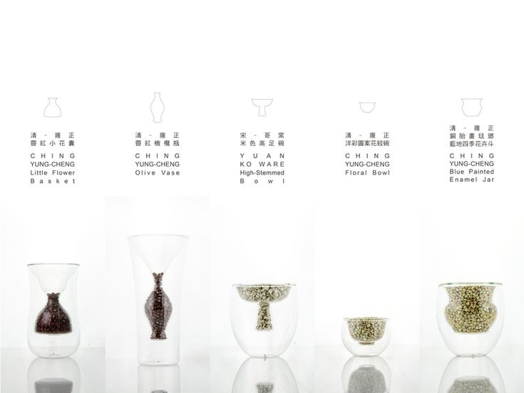 studio KDSZ defines glass cup cores as ancient chinese bowls