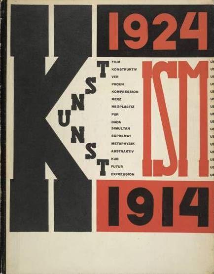 Rivista Kunst-ism, produzione artistica delle avanguardie in 3 lingue