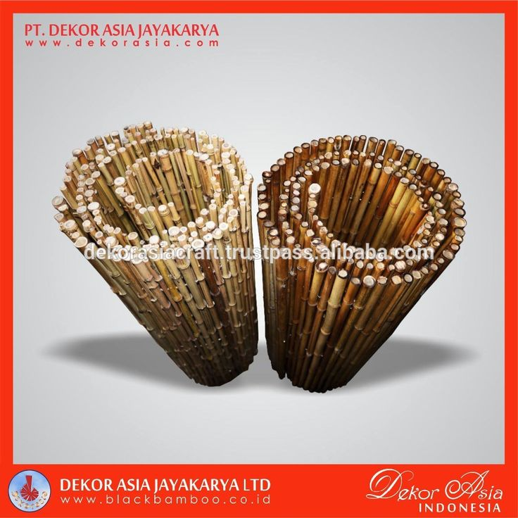 Full round roll of bamboo cendani, wall fence, fence panels, bamboo fence wall, View fence panels, DEKOR ASIA Product Details from PT. DEKOR ASIA JAYAKARYA on Alibaba.com