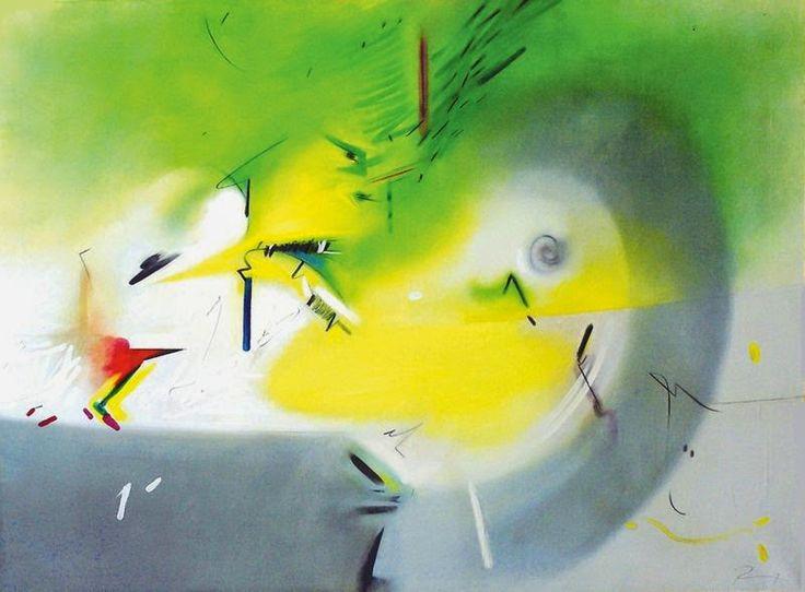 SINCRONIA: GIOIA PERTUTTI- Toda la alegría que hay en el mundo, surge de desear la felicidad de los demás. Y todo el sufrimiento que hay en el mundo, surge de desear ser feliz uno mismo. Bodhisattva Shantideva (S.VIII) Imagen: La luce del mattino incontrò la mela by Renzo Bergamo, óleo sobre tela · · · · · · 159'6 x 121'5 cm, 1994