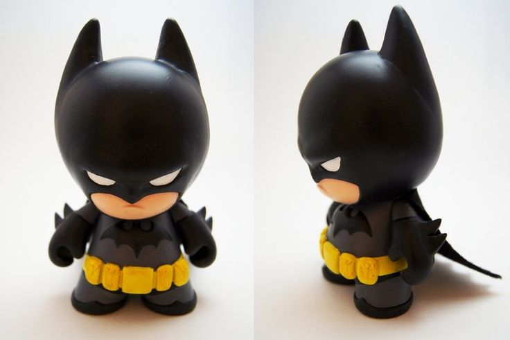 Batman Mini Munny by xf4LL3n.deviantart.com on @deviantART