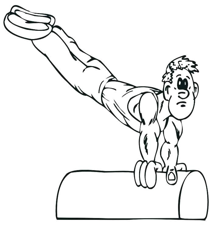 Barbie Gymnastics Coloring Pages Gymnastic Is A Sport That Is Loved By Many Groups No Exception Ch Sports Coloring Pages Summer Coloring Pages Coloring Pages