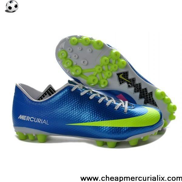 Best Gift Nike Mercurial Veloce AG Neptune Blue Volt Pink Soccer Boots For Sale