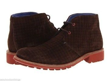 Ted Baker Mens Degallo Houndstooth Suede Size 9 Us For Men Brown Boots. Get the must-have boots of this season! These Ted Baker Mens Degallo Houndstooth Suede Size 9 Us For Men Brown Boots are a top 10 member favorite on Tradesy. Save on yours before they're sold out!