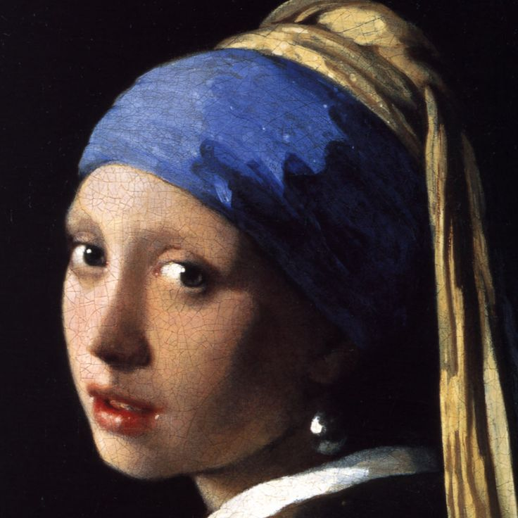 "Ян Вермеер Делфтский ""Девушка с жемчужной сережкой"" (нидерл.  Jan Vermeer van Delft ""Het meisje met de parel"")"