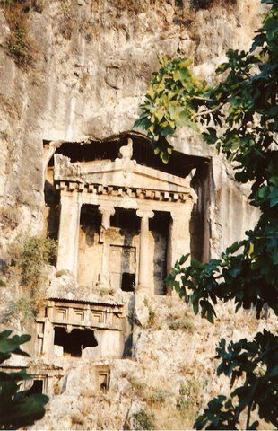 Lycian Tombs,Amasya