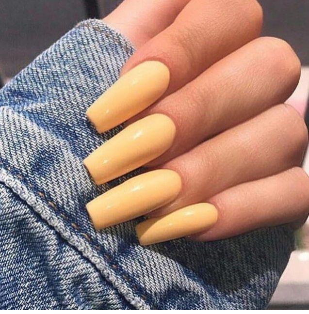 Sunshine Nails Unhas De Gel Tumblr Unhas De Gel Unhas Amarelas
