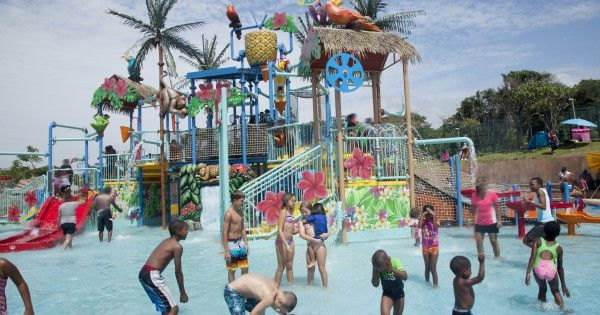 The Wild Waves Water Park offers some of the world's best water slides, from the thrilling Aqualoop to the relaxed Lazy River.