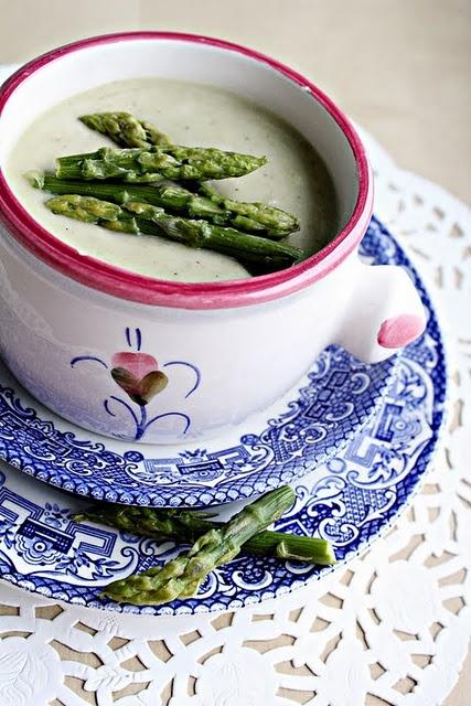 Krem ze szparagów. Podoba nam się taka zupa! #ageless www.ageless.pl