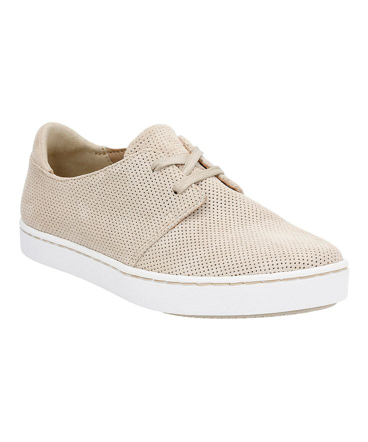 Another great find on #zulily! Clarks Sand Leara Blend Suede Sneaker by Clarks #zulilyfinds