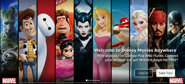 Disney Movies Anywhere now linking to Google Play – get Wreck It Ralph as a bonus for connecting
