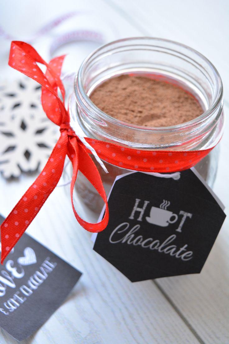Preparato per cioccolata calda. Un semplice preparato per realizzare una cioccolata calda cremosa e speziata. Un'idea facile e veloce da tenere in dispensa o da regalare a Natale   Home made hot cocoa mix