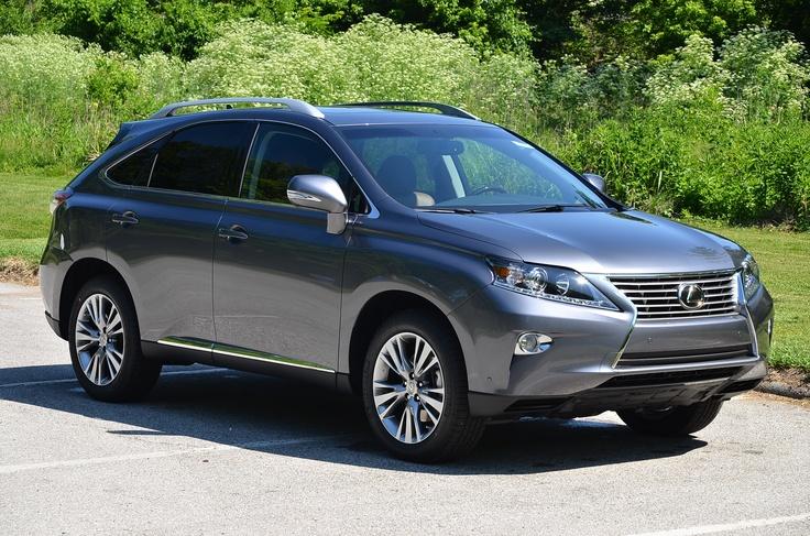Metallic Gray Lexus SUV