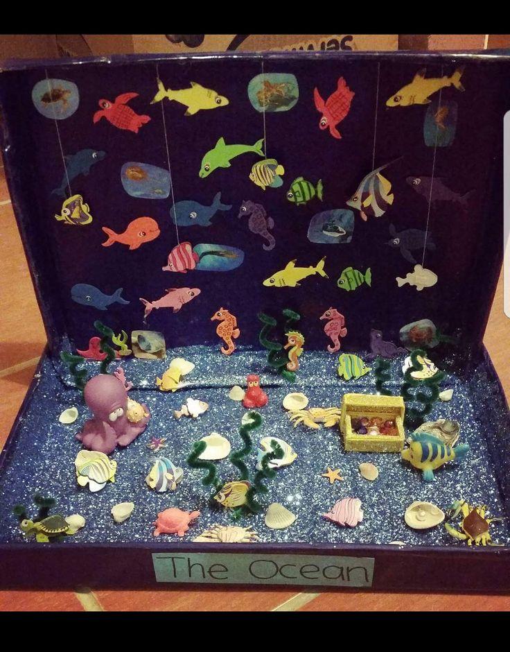 Kids Diorama With Details: Best 25+ Ocean Diorama Ideas On Pinterest
