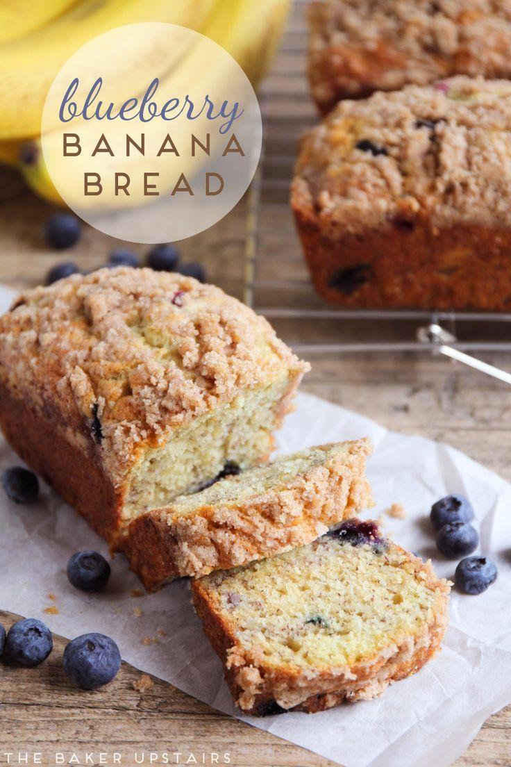 Blueberry Banana Bread Blueberry Banana Bread Best Banana Bread Sour Cream Recipes
