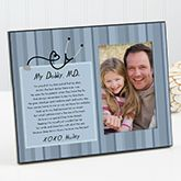 Find something special for the doctor in your life with the My Daddy, M.D. Personalized Photo Frame. Find the best personalized medical gifts at PersonalizationMall.com