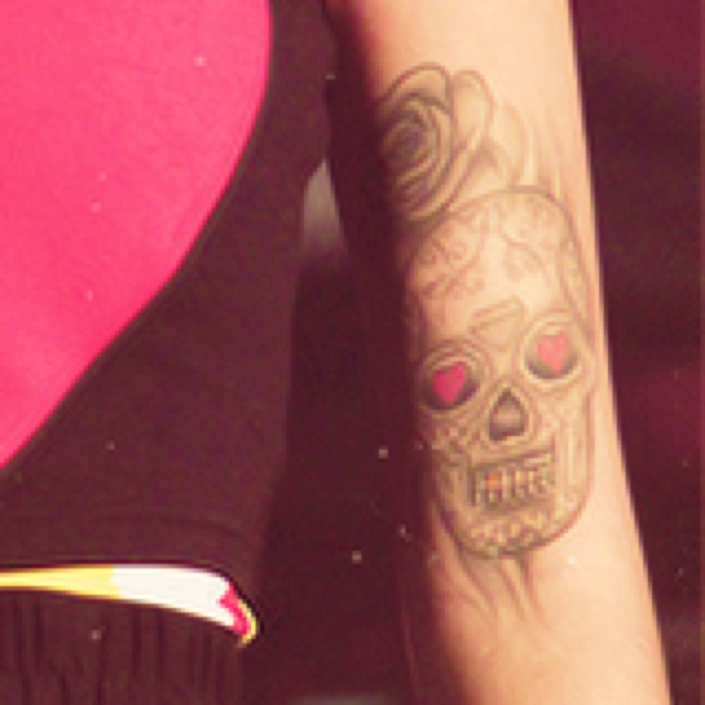 Not the hugest fan of this particular tattoo but it suits Cher