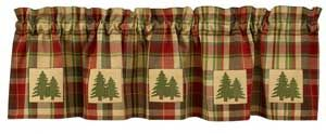 Thank you. You will receive a $1 off coupon during checkout. Fir Tree Lined Rustic Valances for Cabin Or Lodge - Pine Tree