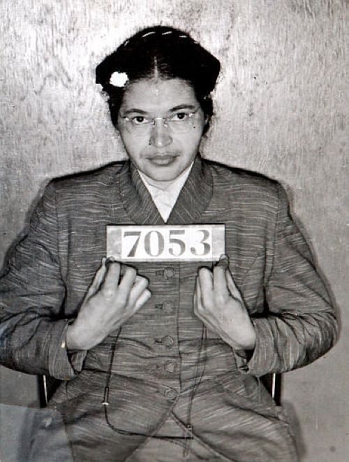 Rosa Parks: Changed the world in a single bus ride.  Parks wasn't the first black American to refuse to give up her seat for a white passenger on public transit, but she was the one who sparked the Montgomery Bus Boycott, which made the US civil rights movement world news.  Reminds us that even small acts of defiance can have a huge impact.