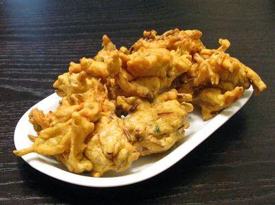 Γεύσεις Ινδίας - Indian Flavours: Πακόρα (Λαχανικά σε κουρκούτι) / Pakora / Bajji