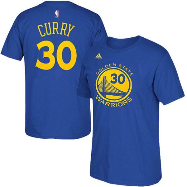 Stephen Curry Golden State Warriors adidas Net Number T-Shirt – Royal Blue - $27.99