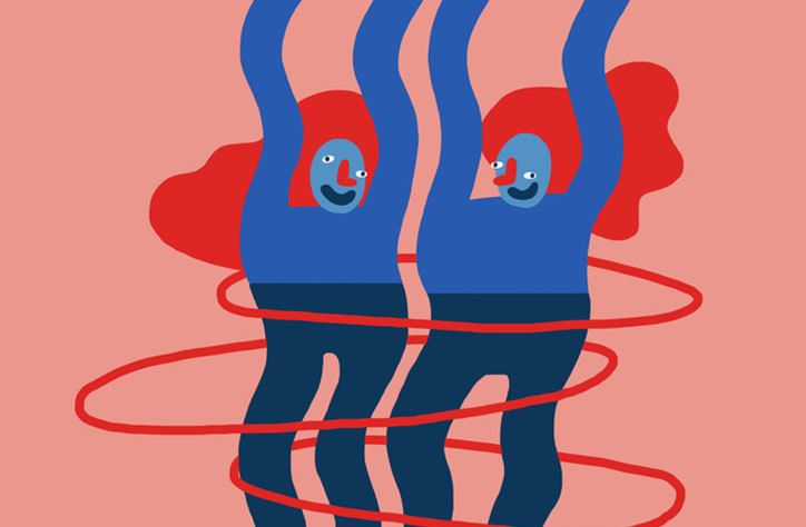 Illustrator Cecile Gariepy's clownish and charming characters